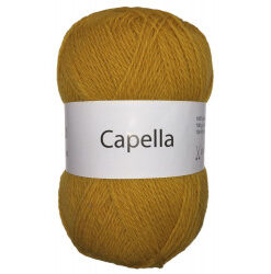 Capella karry gul 730 garn wool4you capella