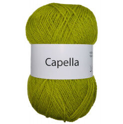 Capella lime 335 garn wool4you capella