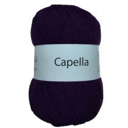 Capella mørk lilla 109 garn wool4you capella