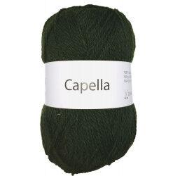 Capella mørkegrøn 360 garn wool4you capella