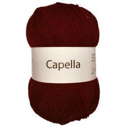 Capella mørkerød 565 garn wool4you capella