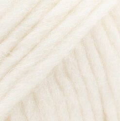 Drops eskimo farve hvid garn drops snow / eskimo