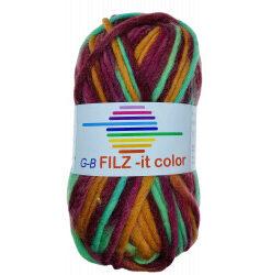 Filz-it cirkus, farve 125 uldgarn