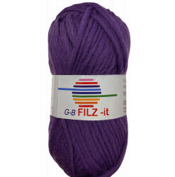 Filz-it lilla, farve 06 uldgarn