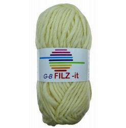Filz-it natur farve 01 uldgarn