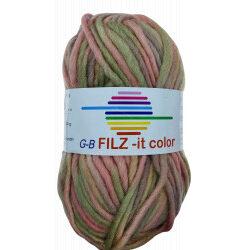 Filz-it pastelfarver, farve 131 uldgarn