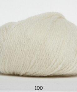 Hjerte Fine Highland Wool - Uldgarn - Hjertegarn - fv 100 råhvid