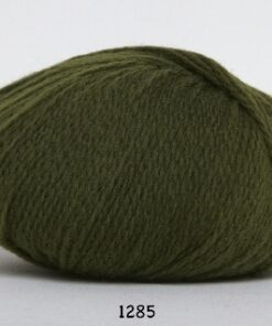 Hjerte Fine Highland Wool - Uldgarn - Hjertegarn - fv 1285 Jagt Grøn