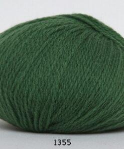 Hjerte Fine Highland Wool - Uldgarn - Hjertegarn - fv 1355 Grøn