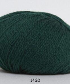 Hjerte Fine Highland Wool - Uldgarn - Hjertegarn - fv 1420 Mørk Grøn