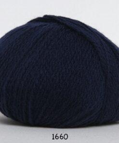 Hjerte Fine Highland Wool - Uldgarn - Hjertegarn - fv 1660 Mørk Blå