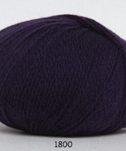 Hjerte Fine Highland Wool - Uldgarn - Hjertegarn - fv 1800 Mørk Lilla