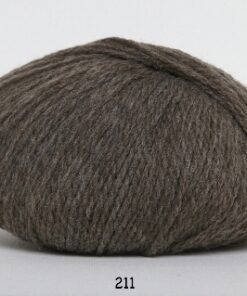 Hjerte Fine Highland Wool - Uldgarn - Hjertegarn - fv 211 Lys Brun