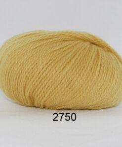 Hjerte Fine Highland Wool - Uldgarn - Hjertegarn - fv 2750 Gul