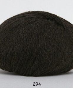 Hjerte Fine Highland Wool - Uldgarn - Hjertegarn - fv 294 Mørk Brun