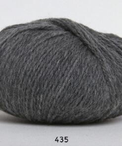 Hjerte Fine Highland Wool - Uldgarn - Hjertegarn - fv 435 Grå
