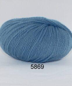 Hjerte Fine Highland Wool - Uldgarn - Hjertegarn - fv 5869 Due Blå
