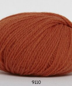 Hjerte Fine Highland Wool - Uldgarn - Hjertegarn - fv 9110 Orange