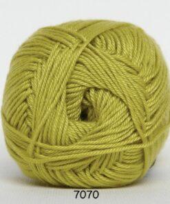 Hjertegarn Diamond Cotton - merceriseret bomuld - 7070 Lime Grøn