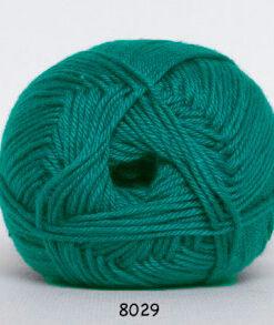 Hjertegarn Diamond Cotton - merceriseret bomuld - 8029 Jade Grøn