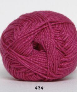 Hjertegarn Diamond Cotton - merceriseret bomuld - fv 434 Pink