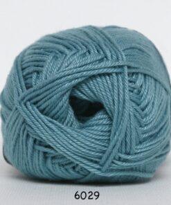 Hjertegarn Diamond Cotton - merceriseret bomuld - fv 6029 Lys Jadegrøn