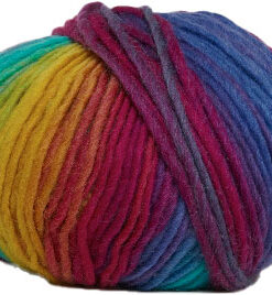 Hjertegarn Incawool - Uldgarn - fv 1101 Flerfarvet
