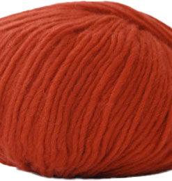 Hjertegarn Incawool - Uldgarn - fv 1536 Rust Rød