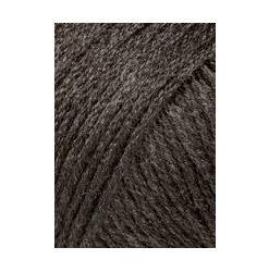 Lang yarns omega, mørk brun 067 akrylgarn