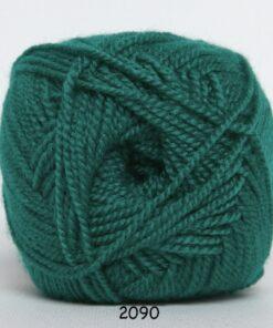Perle Akryl - Akrylgarn - fv 2090 Græs Grøn
