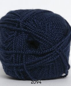 Perle Akryl - Akrylgarn - fv 2094 Mørk Blå