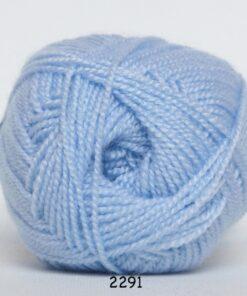 Perle Akryl - Akrylgarn - fv 2291 Baby Lyse Blå