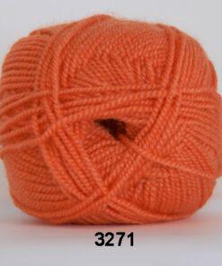 Perle Akryl - Akrylgarn - fv 3271 Orange