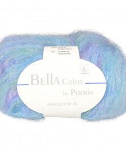 Permin Bella Unicolour Garn 883154 Lilla/Grøn/Blå