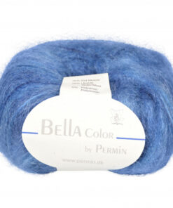 Permin Bella Unicolour Garn 883156 Blå