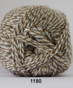 Sock 4 - Strømpegarn - Uldgarn - fv 1180 Flerfarvet