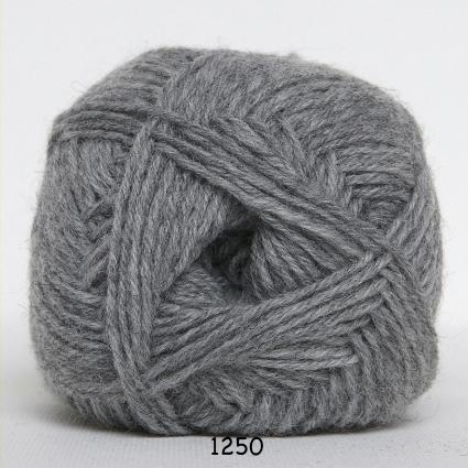 Sock 4 - Strømpegarn - Uldgarn - fv 1250 Grå