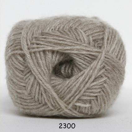 Sock 4 - Strømpegarn - Uldgarn - fv 2300 Beige