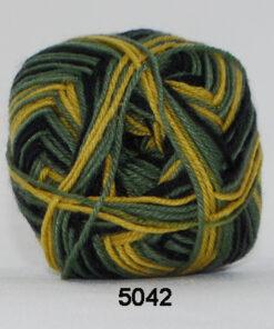 Sock 4 - Strømpegarn - Uldgarn - fv 5042 Flerfarvet