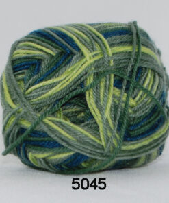 Sock 4 - Strømpegarn - Uldgarn - fv 5045 Flerfarvet