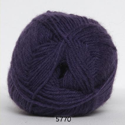 Sock 4 - Strømpegarn - Uldgarn -fv 5770 Lilla