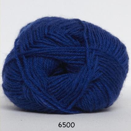 Sock 4 - Strømpegarn - Uldgarn - fv 6500 Konge Blå