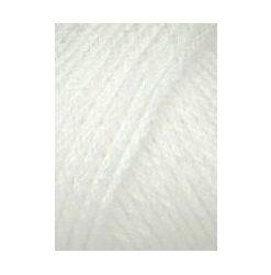 hvid akrylgarn